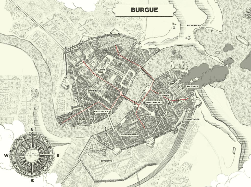 Карнивал Роу - Бурге (The Burgue)
