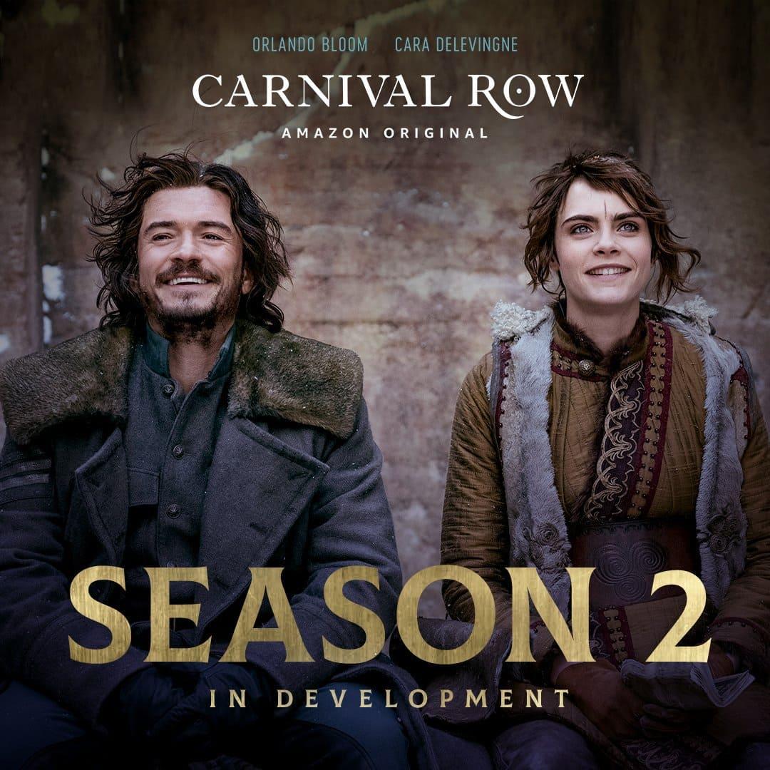 Начало производства и дата выхода 2 сезона Карнивал Роу