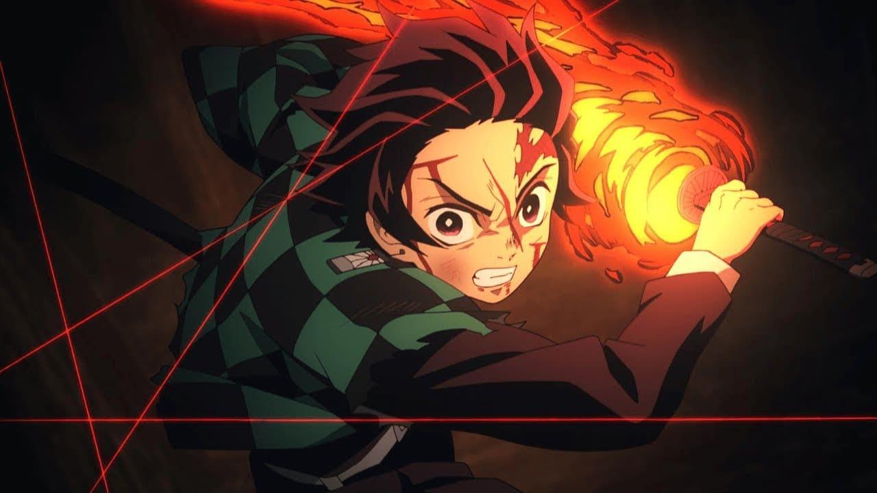Лучший бой аниме Клинок рассекающий демонов