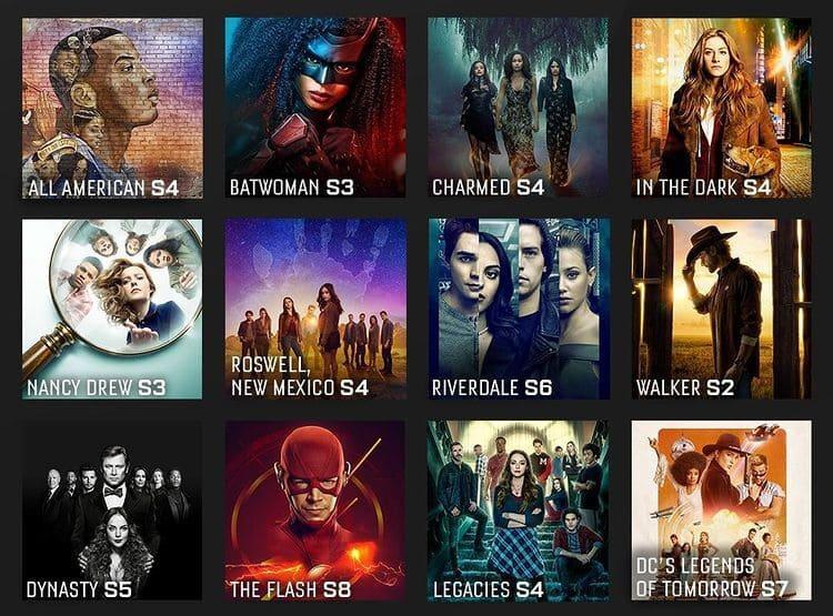 Продлённые сериалы телеканала CW