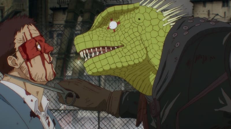 Дорохедоро - Человек против Каймана