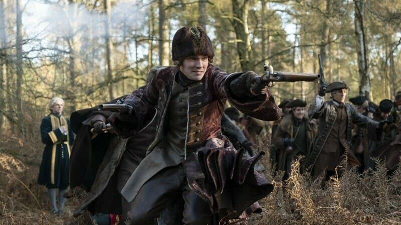 Пётр III Фёдорович на охоте в сериале Великая