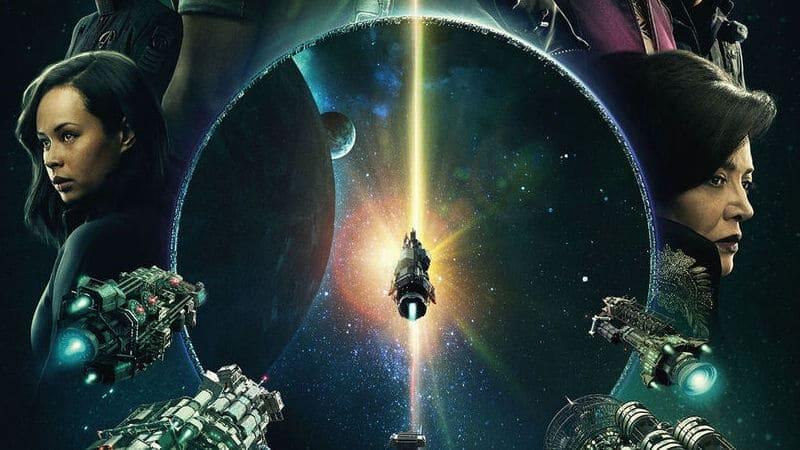 Космический флот в сериале Пространство