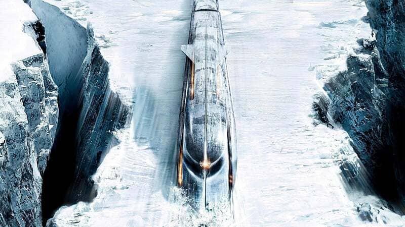 Поезд из сериала Сквозь снег