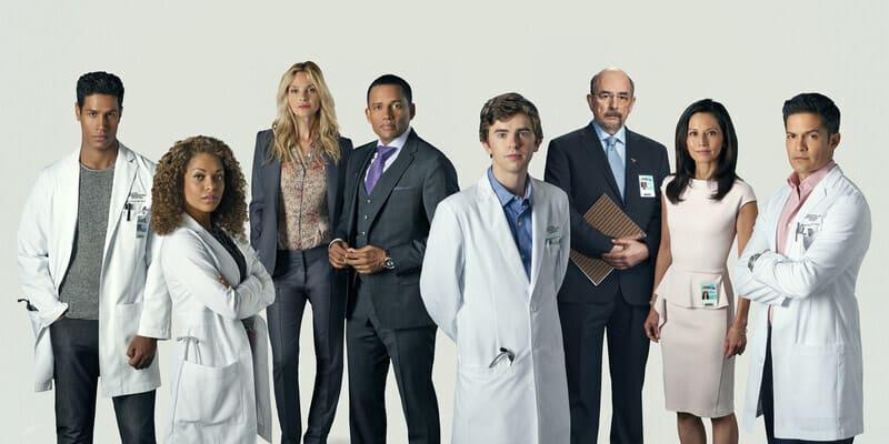 Герои сериала Хороший доктор