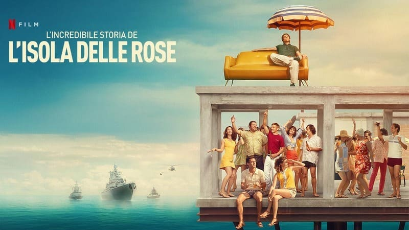 Лучшие фильмы Нетфликс 2020 - Невероятная история Острова роз