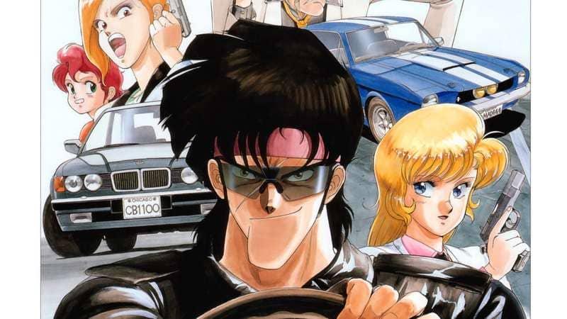Аниме про гонки на машинах - Боб на колесах (1989)