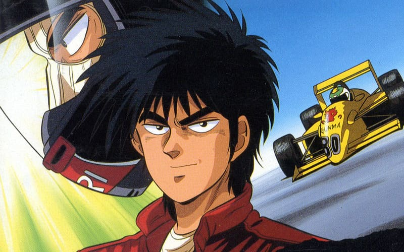 Аниме про гонки на машинах - Формула (1988)