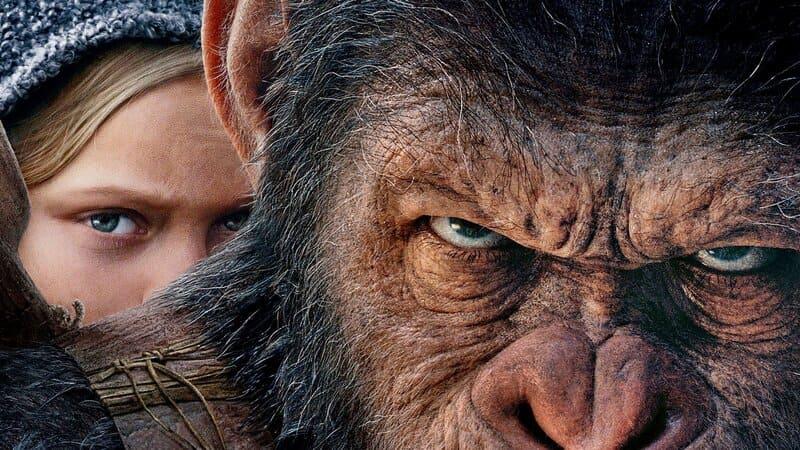 Лучшие фантастические фильмы 2017 - Планета обезьян: Война